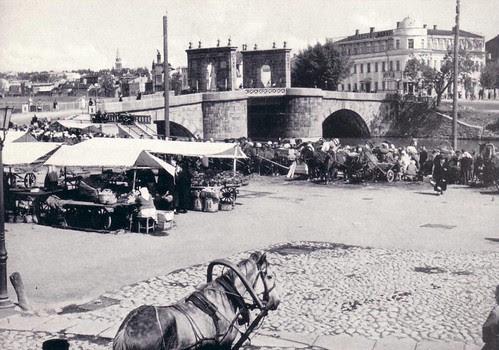 Market in Tartu Estonia