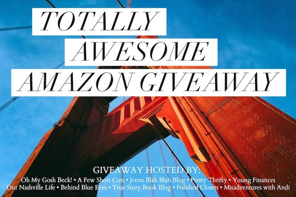 Totally Awesome November Just in Time for Christmas a Totally Awesome #Giveaway $750 Amazon Gift Card 12/3