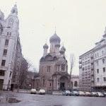 "Strada Ioan Ghica, Biserica Sfântul Nicolae, cunoscută ca ""Biserica Rusă"""