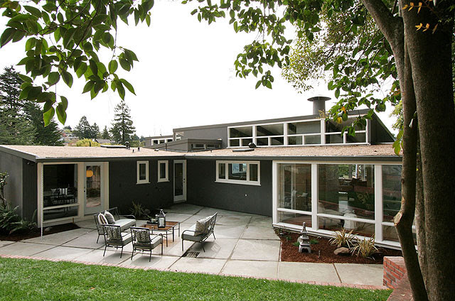 Etcheverry House Mid Century Home Exterior Details - modern ...