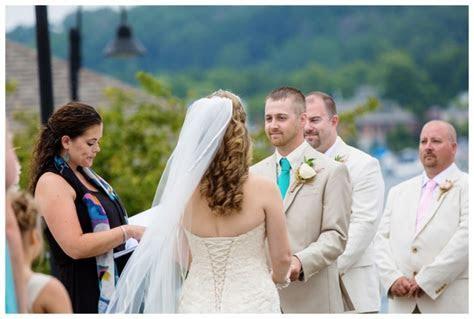 Elberta Life Saving Station Wedding   Traverse City and