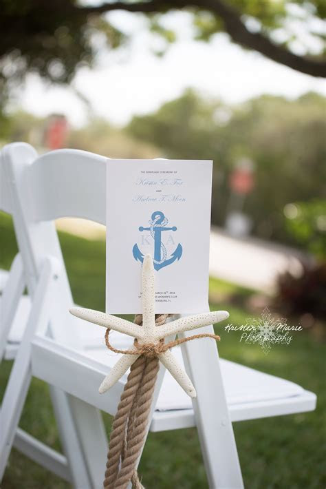 Nautical Themed Wedding #aisle decor #ceremony details #