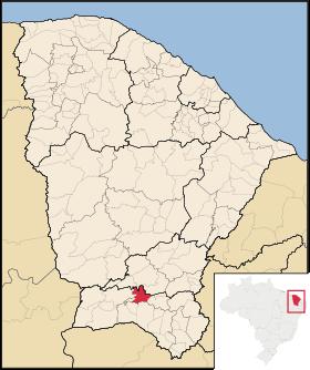 Localização de Farias Brito