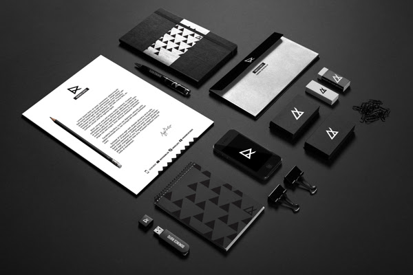 47adfeef4a42bbe74b875ac2c6a9e7e91 60 Professional Examples of Stationery Design