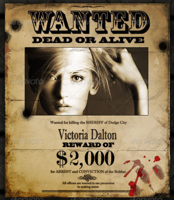 Wanted Poster Templates || Free & Premium Templates |
