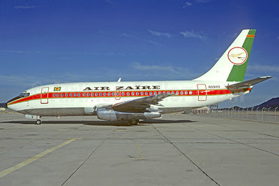 Air Zaïre Boeing 737-275C N331XV (msn 19743) TUS (Christian Volpati Collection). Image: 911957.