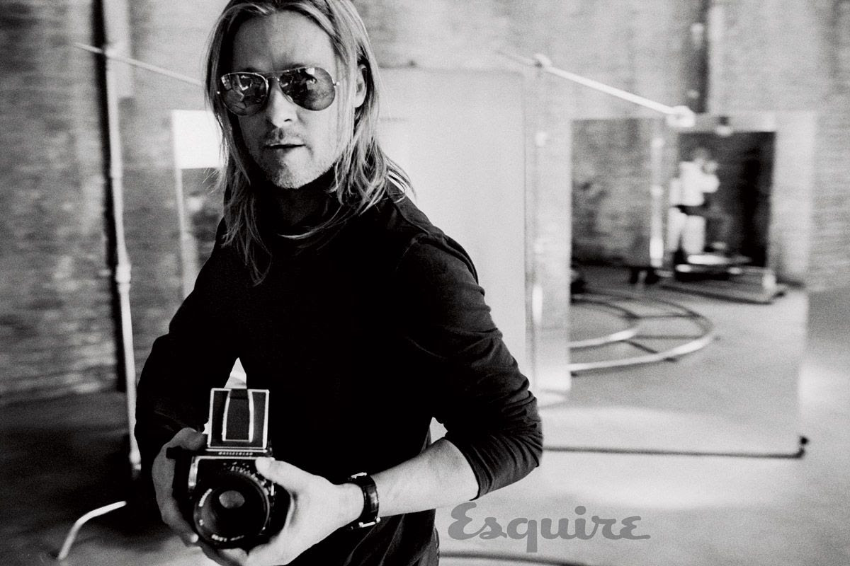 Brad Pitt : Esquire (June 2013)