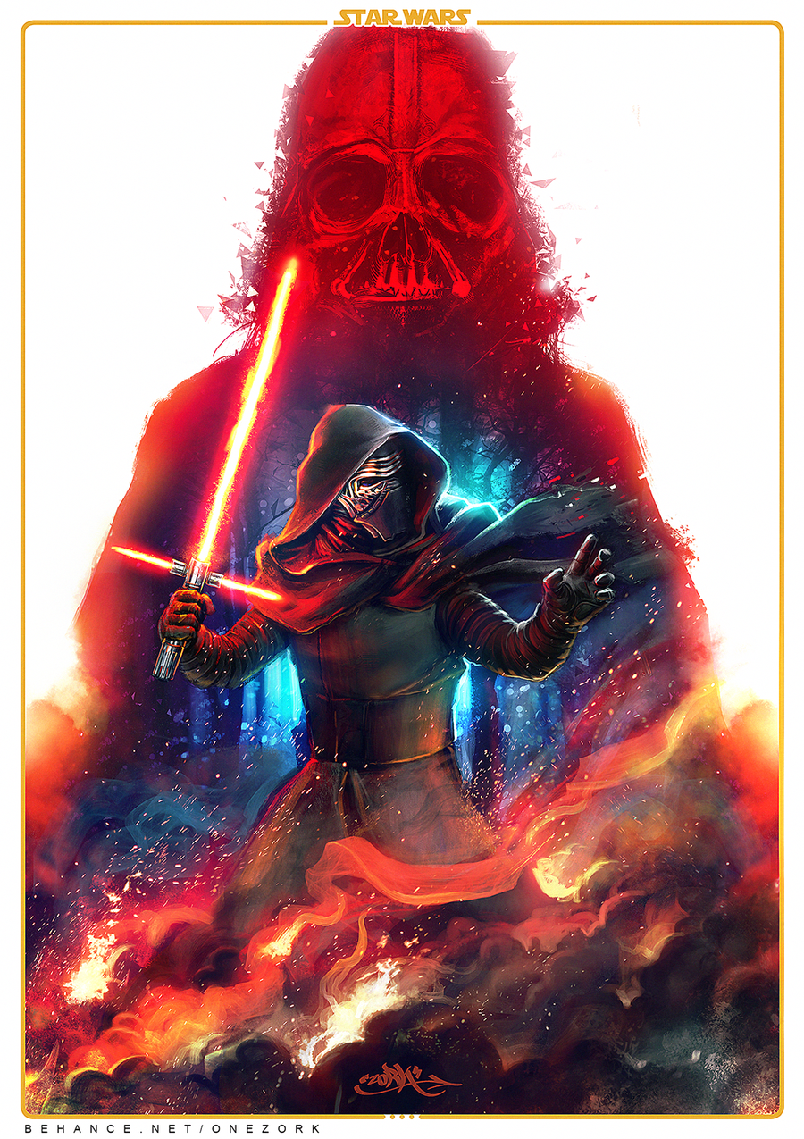 Star Wars The Force Awakens Fan Art By Thezork Png Myconfinedspace