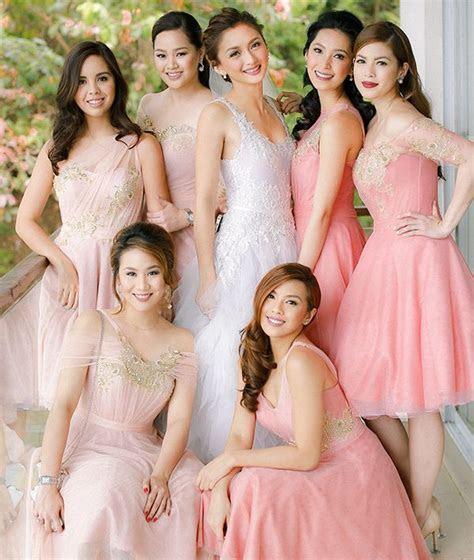 25  best ideas about Wedding entourage gowns on Pinterest