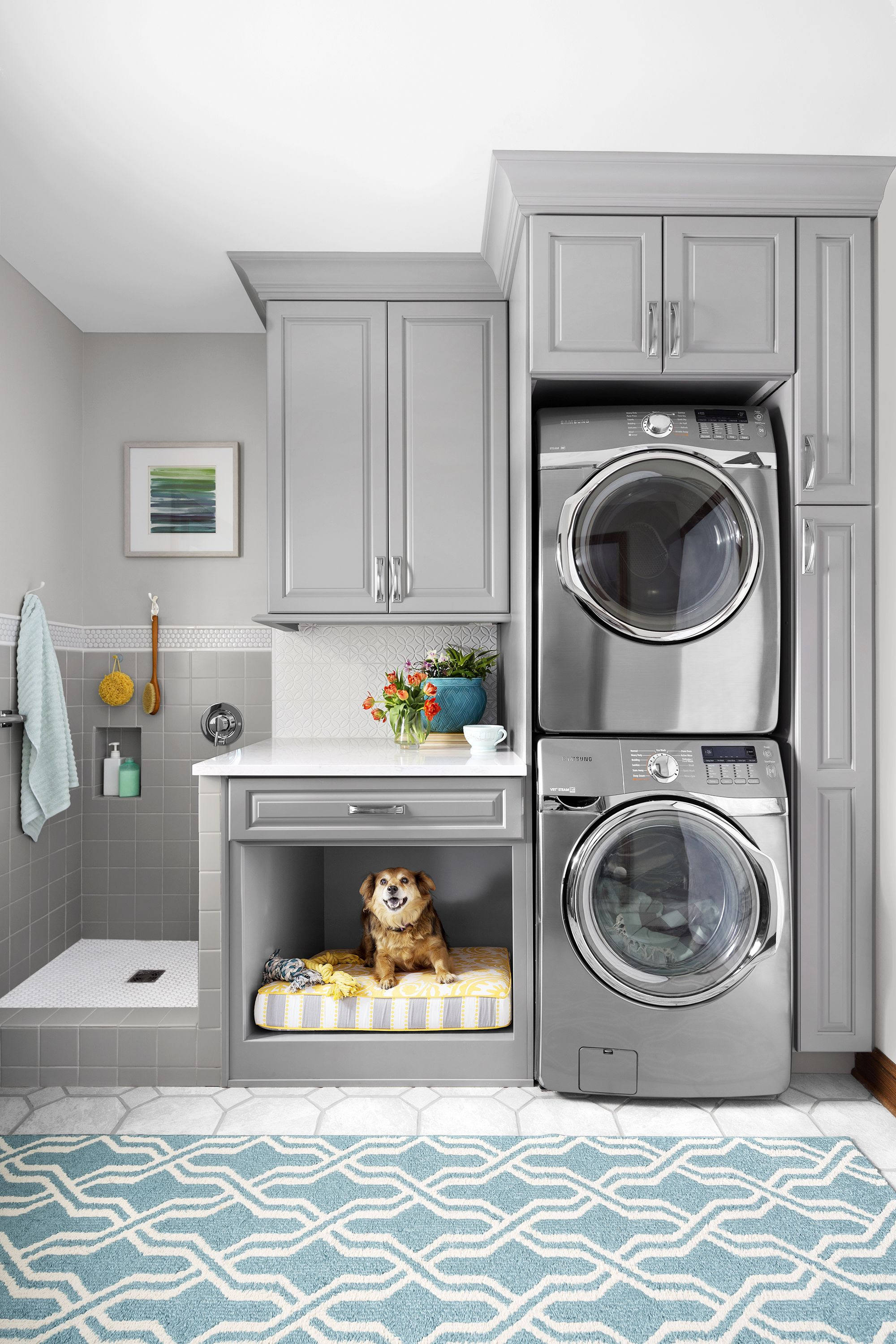 Laundry Room for Vertical Spaces DIY Laundry room