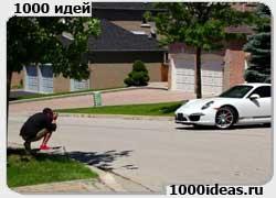 Партизанский директ-маркетинг от дилера Porsche