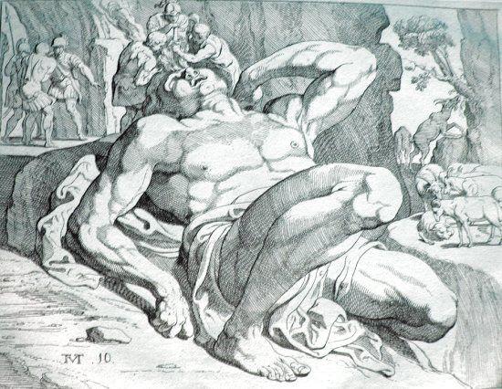Mythologie - Les Monstres - Les géants -