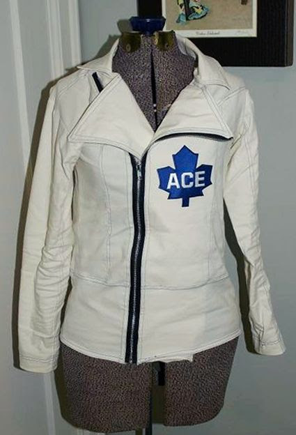 Lise's Maple Leafs clothing