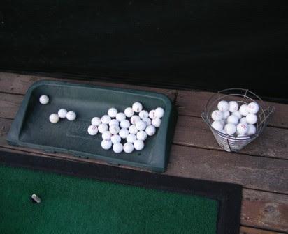XL Basket of Range Balls