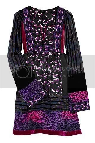 The little patchwork dress