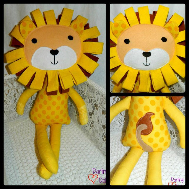 darling dolls lion