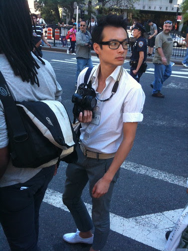 Fashion-forward photog