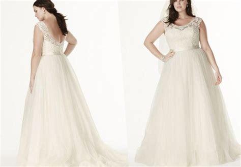 Flattering plus size wedding dresses   PlusLook.eu Collection