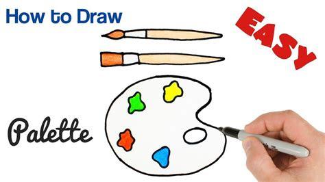 draw paint palette art supplies drawing  kids