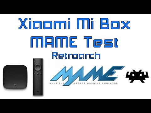 Review Xiaomi Mi Box MAME Test In Retroarch