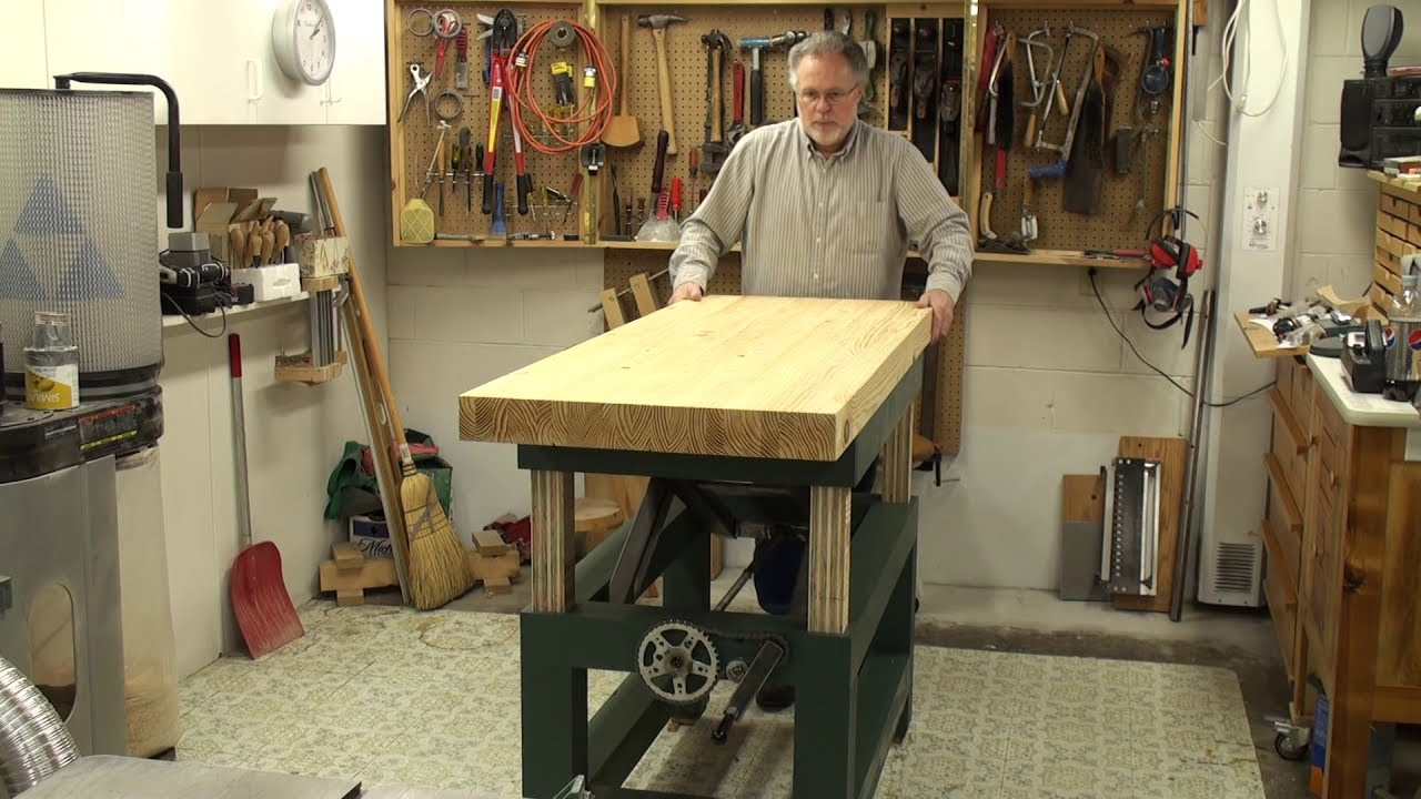 ideal woodworking bench height - woodworking art home