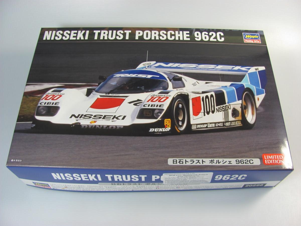 Porsche 962 Nisseki Trust - Hasegawa | Car-model-kit.com