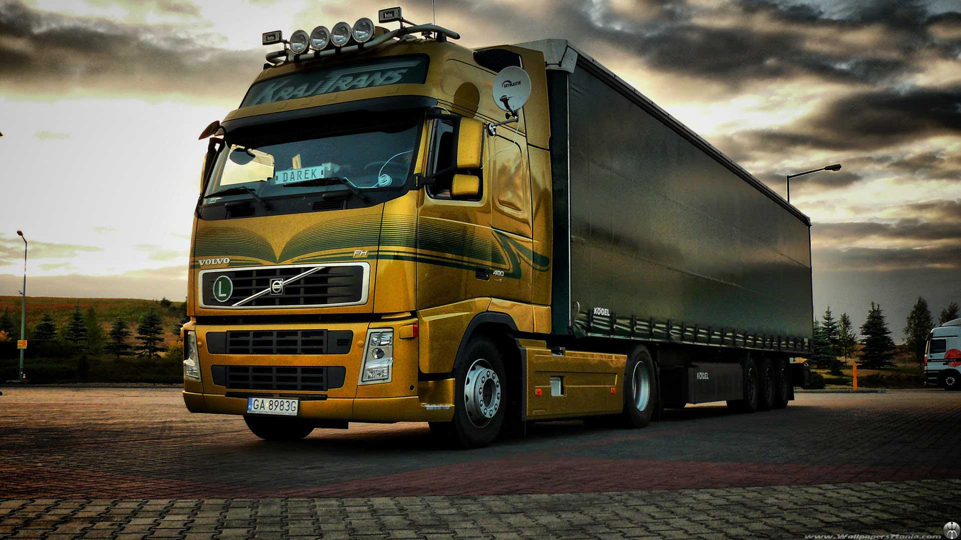 Volvo 2016 Truck Wallpapers  Wallpaper Cave