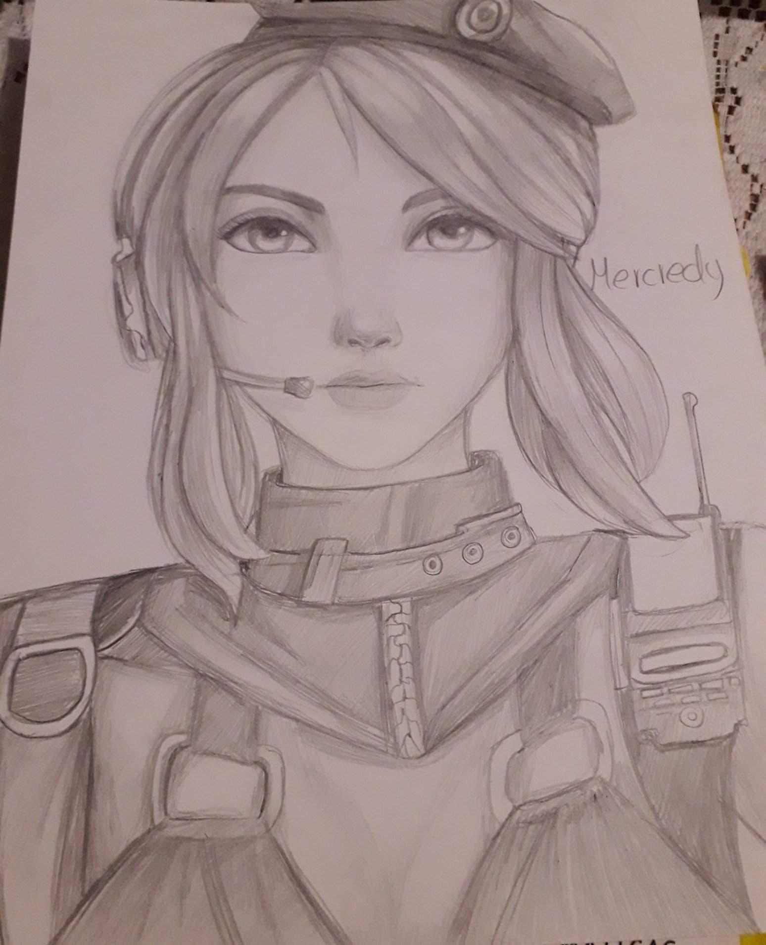 Dibujos De Free Fire De Laura