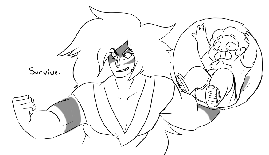 i hope Jasper gets to help train Steven