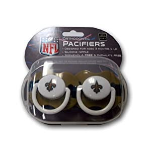 NFL New Orleans Saints 2 Pack Pacifier