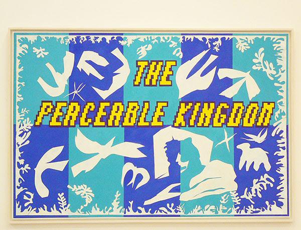 douglas Huebler the peaceable Kingdom d'après Polynésie, la mer