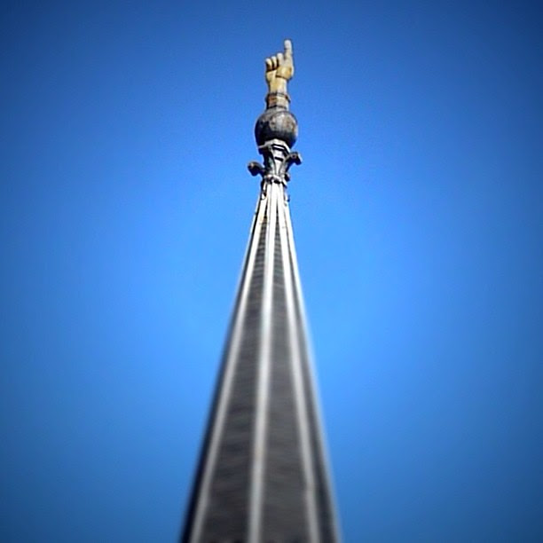we're 1 #thisisotr #cincinnati #ohio #architecture #church #steeple