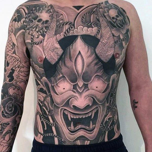 Top 100 Best Stomach Tattoos For Men Masculine Ideas
