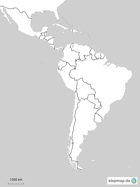 Stumme Karte Lateinamerika.Fidedivine 25 Schon Karte Von Lateinamerika