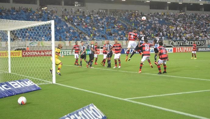 ABC x Atlético-GO - Série B 2015 (Foto: Jocaff Souza / GloboEsporte.com)