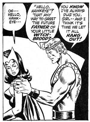 Avengers #102 panel