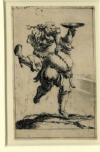 Set of twelve grotesque figures representing the twelve months of the year 1638 Denis Boutemie d