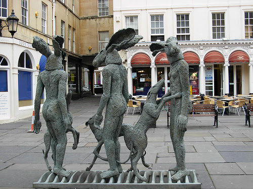 Hares and Dogs_rear view