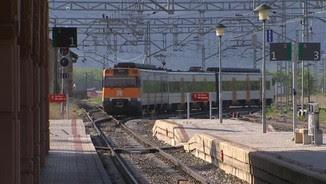 Imatge d'arxiu d'un tren de Rodalies