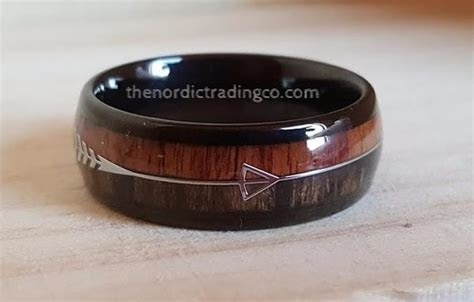 New Item! Men's Rugged Hunting Inspired Wedding Band