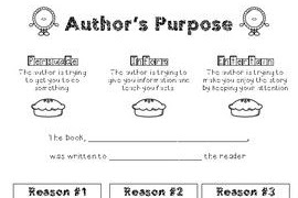 17 best ideas about Authors Purpose Worksheet on Pinterest Authors purpose activities