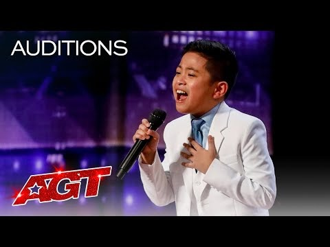 """10-Year-Old Peter Rosalita SHOCKS The Judges With """"All By Myself"""""""
