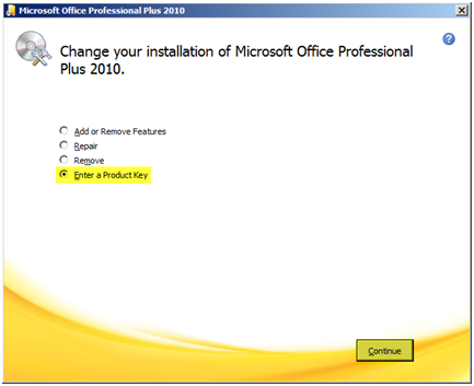 microsoft office 2010 product key activated maximum number of times