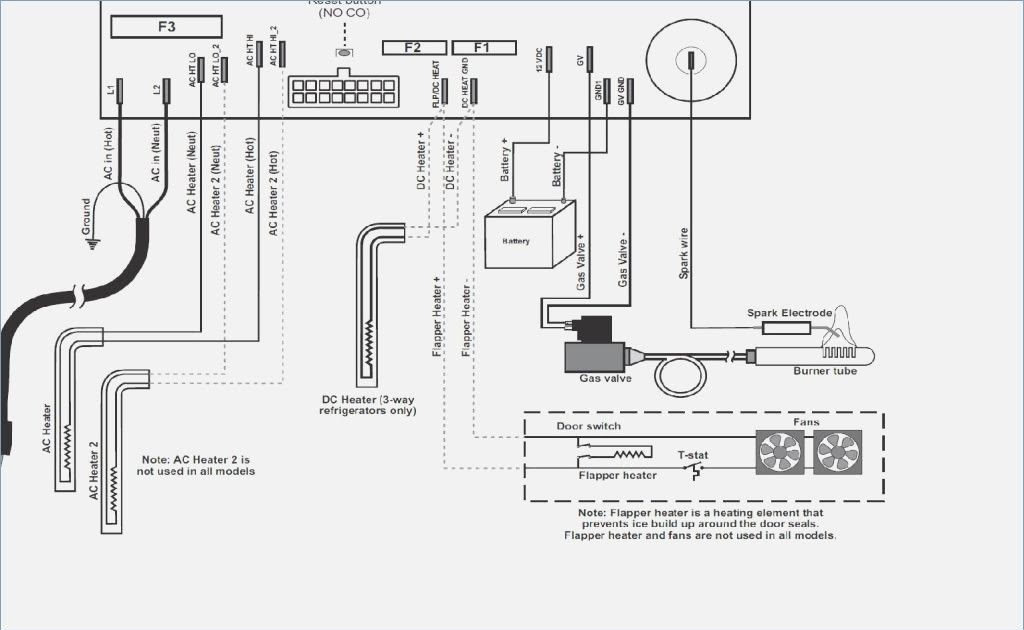 Wiring Diagram For Norcold Refrigerator