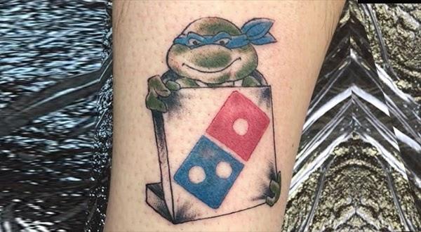 Tattoo Da Villa Dominos Pizza E Tatuagem