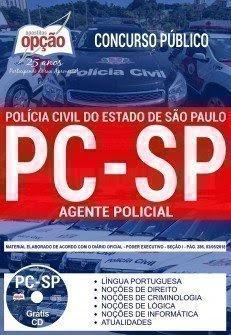 Apostila Concurso PC SP 2018 | AGENTE POLICIAL