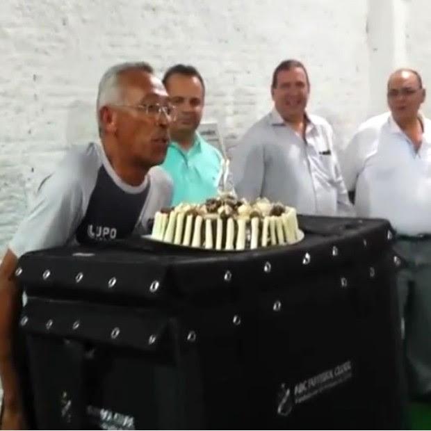Joca, roupeiro do ABC, comemora 45 anos como funcionário do clube potiguar - 620