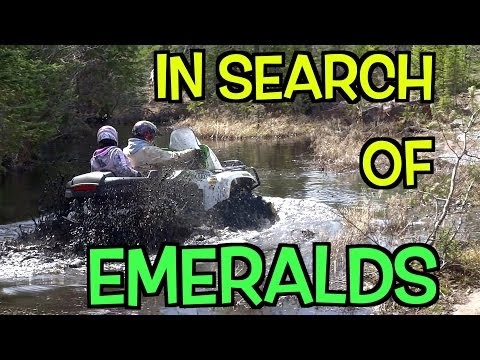A Wet ATV Expedition In Search Of Sasquatch Falls👣 - Oct.1 ...