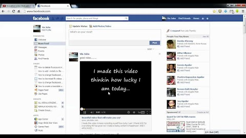 How To Add Video To Facebook