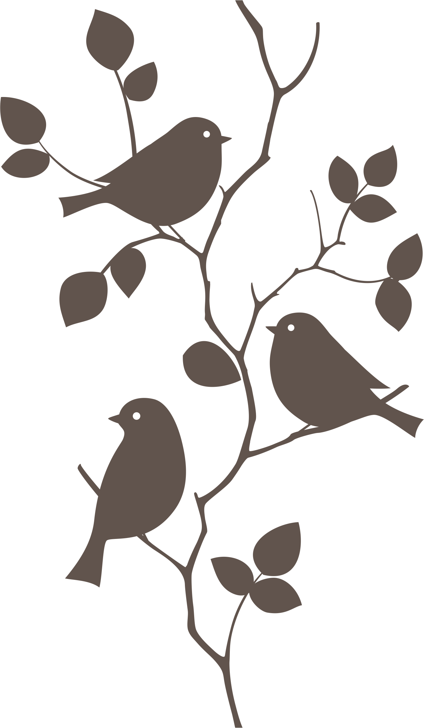 Bird Wall Decal Mural Sticker Vector Graphics Stone Wall Art Installations Png Download 1378 2364 Free Transparent Bird Png Download Clip Art Library